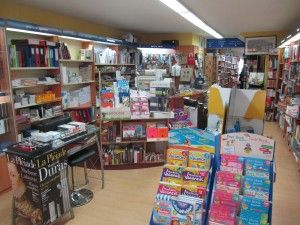 Boutique : librairie l'Encre Bleue Granville